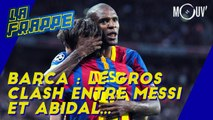 Barca : le gros clash entre Messi et Abidal