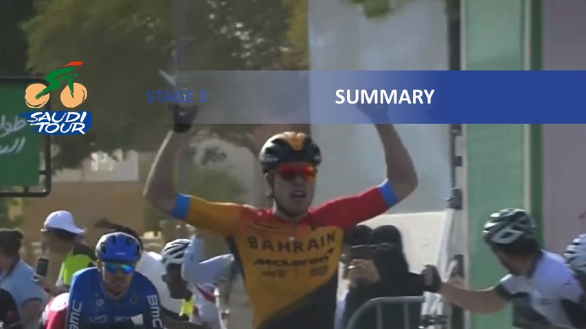 Saudi Tour 2020 - Stage 3 - Highlights
