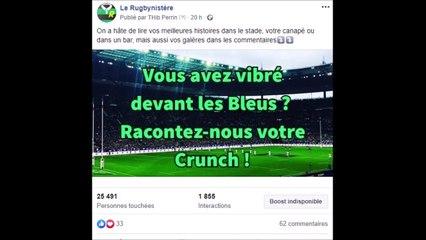 Le Crunch vécu par les lecteurs du Rugbynistère