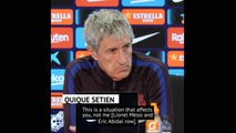 Setien stays clear of Messi and Abidal feud