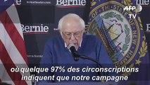 Bernie Sanders renvendique la 'victoire' dans le caucus de l'Iowa