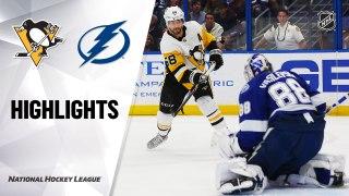 Tampa Bay Lightning vs. Pittsburgh Penguins - Game Highlights