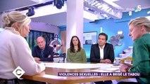 """Flavie Flament s'en prend à Didier Gailhaguet sur la plateau de """"C à vous"""": """"Une victime ne bave pas ! Une victime parle, une victime s'exprime !"""""""