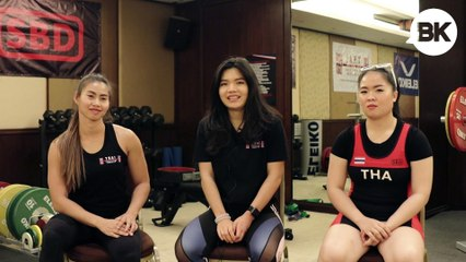 These athletes are putting Thailand on the global powerlifting map