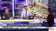 Marie Coeurderoy: Le Portugal va revenir sur le cadeau fiscal qu'il accordait depuis 10 ans aux retraités étrangers - 07/02