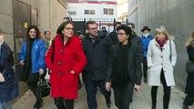 Municipales à Paris : Rachida Dati (LR) en campagne dans les rues du XVIIe arrondissement