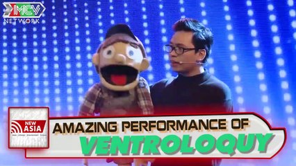 Are you talented?: An amazing ventriloquist performance