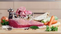 Receta de carne guisada