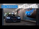 Bugatti Paris inaugure sa concession à Neuilly-sur-Seine (92)
