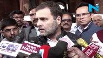 PM Modi doesn't behave like Prime Minister: Rahul Gandhi