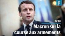 Course aux armements: «Les Européens ne peuvent pas se cantonner à un rôle de spectateurs»