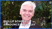 Phillip Schofield announces he is gay