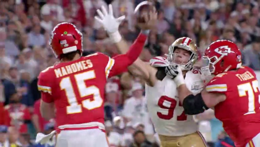 Super Bowl LIV Mic'd Up, -I'm a BEAST down here… HIT ME!- – Game Day All Access Dailymotion