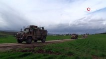 Sınıra 'kirpi'li asker sevkiyatı