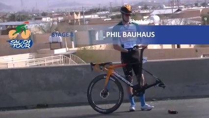 Saudi Tour 2020 - Étape 4 / Stage 4 - Tire swap
