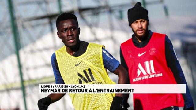 Neymar de retour à l'entrainement