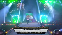 Kenny Omega , Adam Hangman Page vs. Lucha Bros & Butcher and The Blade