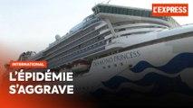 Coronavirus : l'épidémie s'aggrave sur le paquebot près du Japon
