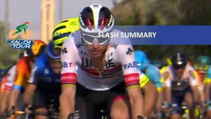Saudi Tour 2020 - Étape 4 / Stage 4 - Flash summary