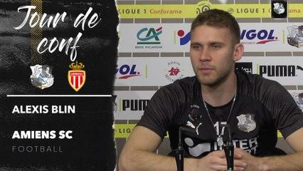 Conférence de presse d'avant Match, Alexis Blin