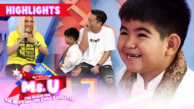 Vice Ganda and Jhong laugh hard because of Yorme | It's Showtime Mini Miss U
