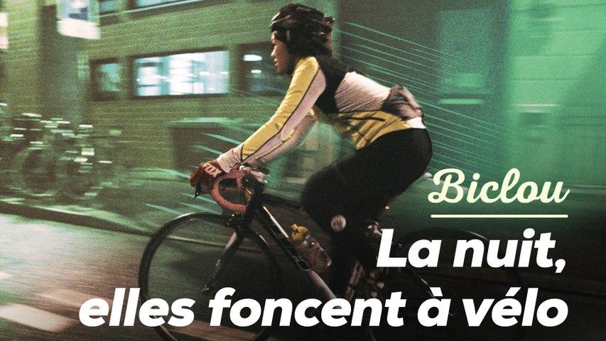 La nuit, elles foncent à vélo dans Paris