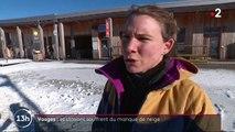 Vosges : les stations souffrent du manque de neige