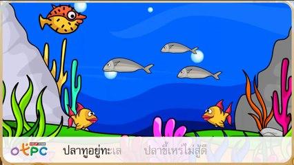 สื่อการเรียนการสอน มาตราตัวสะกดแม่ ก กาป.2ภาษาไทย