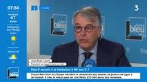 """Retour aux 90 km/h : """"Il faudrait avoir des routes dans les nuages"""", dit Jean-René Lecerf"""