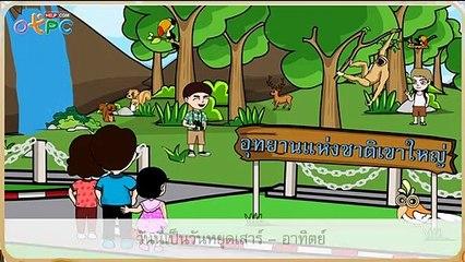 สื่อการเรียนการสอน รักษ์ป่า ป.2 ภาษาไทย