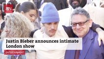 Justin Bieber Plans A Show At The O2