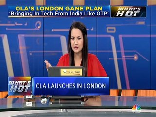 Indian ride hailing app Ola has rolled out its service in London