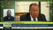 Sergei Lavrov será recibido en México por el canciller Marcelo Ebrard