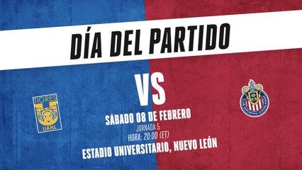 Liga MX: Frente a frente, Tigres vs Chivas