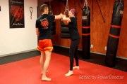 Cours d'autodéfense au centre d art martiaux Tiger Shadow Muay Thai (muay thai / jiu jitsu)