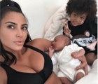 Kim Kardashian Thinks Son Psalm is Her Late Father Reincarnated