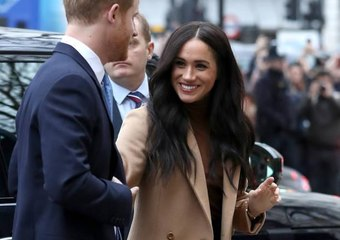 Meghan Markle and Prince Harry Have Reportedly Made Their First Public Appearance Post-Royal Exit