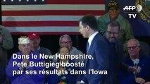 """New Hampshire: Buttigieg se réjouit d'une """"semaine extraordinaire"""" devant des vétérans"""