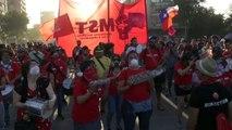 Las manifestaciones resisten las vacaciones y siguen vigentes en Chile