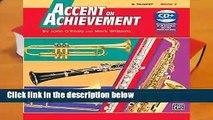Best product  Accent on Achievement, Bk 2: B-Flat Trumpet, Book   CD - John O Reilly
