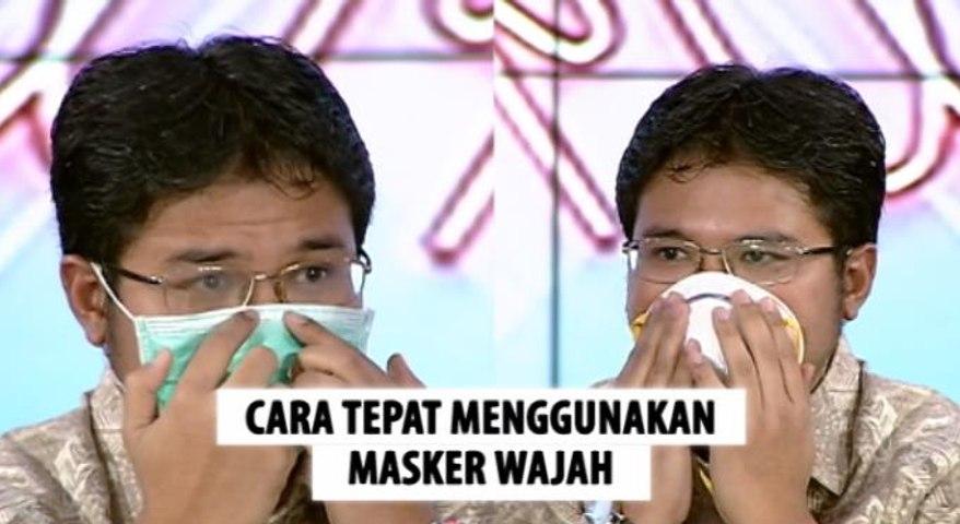 Wabah Virus Korona, Begini Cara Tepat Menggunakan Masker Wajah