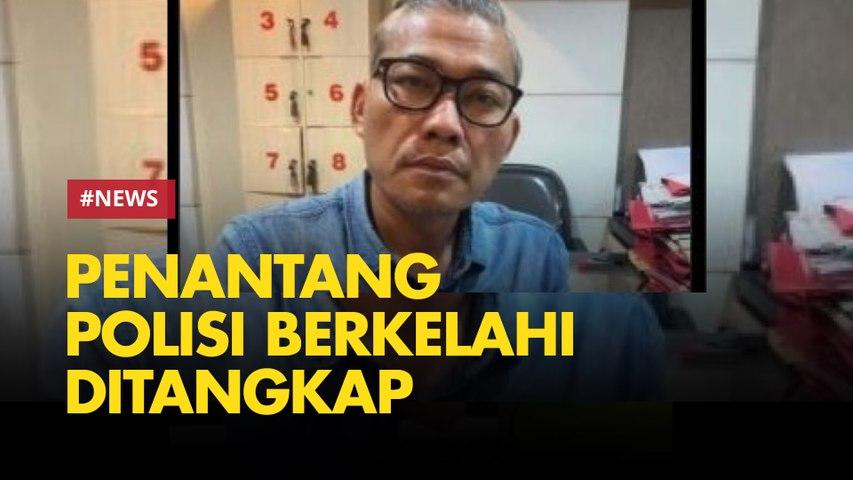 Tohab Sang Penantang Polisi Berkelahi Akhirnya Ditangkap