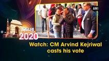 Watch: AAP chief Arvind Kejriwal casts his vote