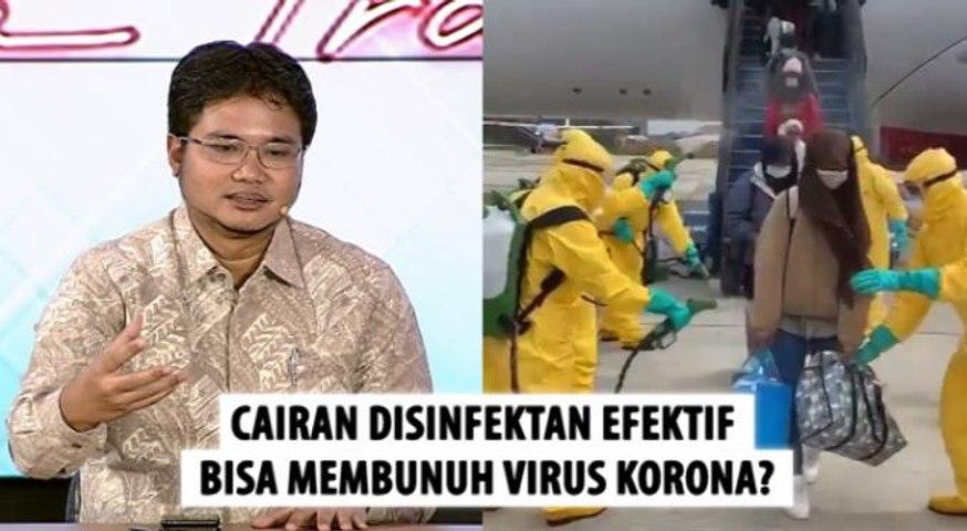 WNI dari China Disemprot Cairan Disinfektan, Efektifkah Bisa Membunuh Virus Korona?