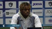 Après HAC - Caen (1-1), réaction de Jamal Thiaré