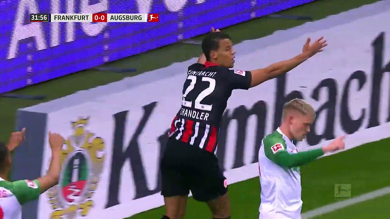 Eintracht Frankfurt - Augsburg (5-0) - Maç Özeti - Bundesliga 2019/20