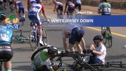 Saudi Tour 2020 - Étape 5 / Stage 5 - White jersey down