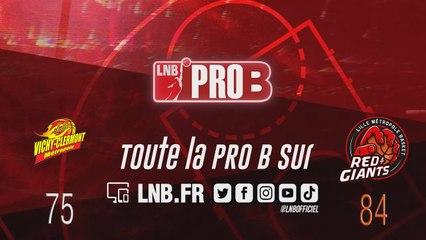 Matchs Officiels 19-20 - PRO B : Vichy-Clermont vs Lille (J19)