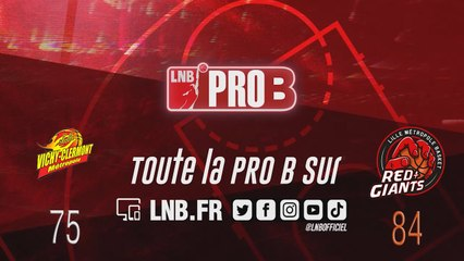 PRO B : Vichy-Clermont vs Lille (J19)