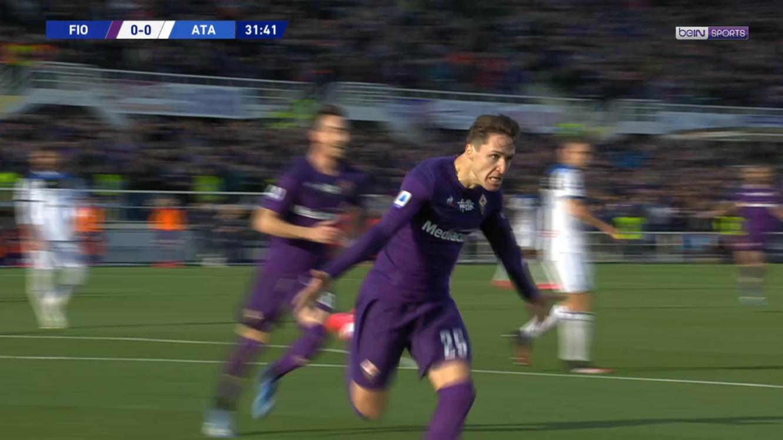 Fiorentina : Chiesa surprend l'Atalanta avec un petit joyau !
